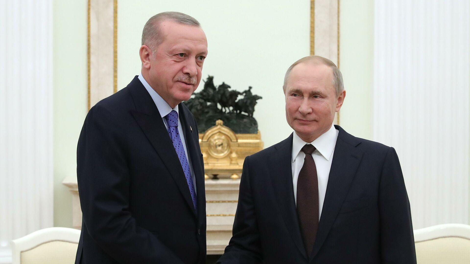 Эрдоган оценил результаты переговоров сПутиным