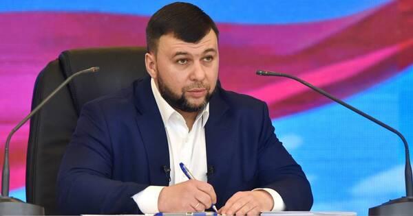 Глава ДНРПушилин предрек резню вДонбассе из-заидеи Зеленского