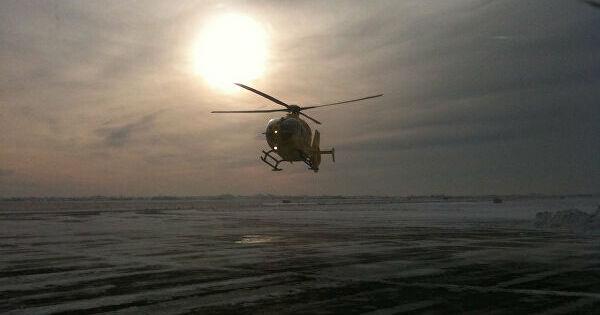 ВПодмосковье разбился легкомоторный вертолет