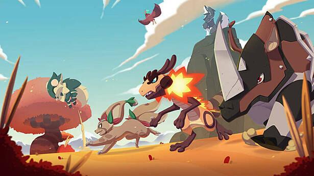 MMORPG Temtem вышла в раннем доступе на PlayStation 5