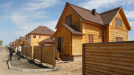 Покупателям деревянных домов могут предоставить скидку