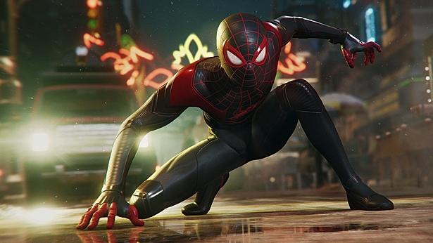 В Spider-Man: Miles Morales можно превратиться в кирпич