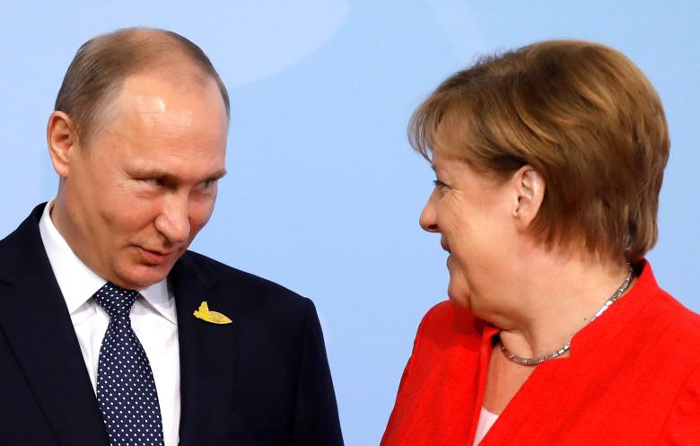 СМИ: Меркель преподнесла «прощальный подарок» Путину