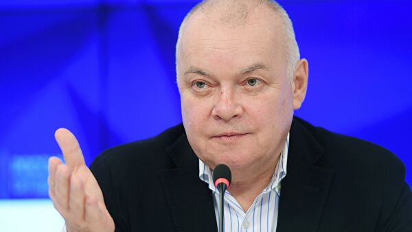 «Дышу сам»: Дмитрий Киселев рассказал, как переносит коронавирус
