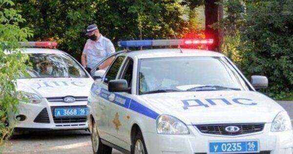 В Казани задержали водителя, дважды протаранившего машину автоинспекторов