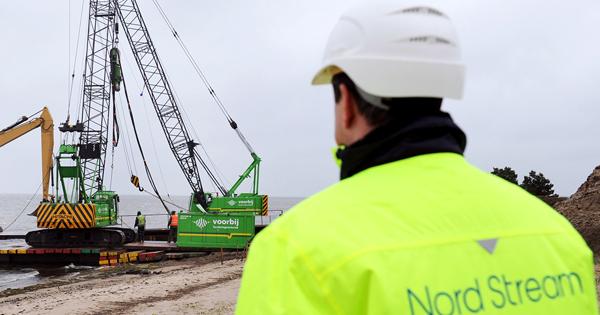 Дания назвала дату старта работ подостройке «Северного потока— 2»