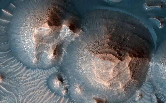 Когда-то наМарсе извергались тысячи супервулканов