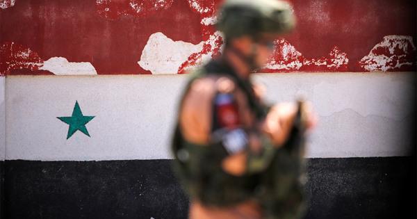 Российский военный подорвался намине вСирии