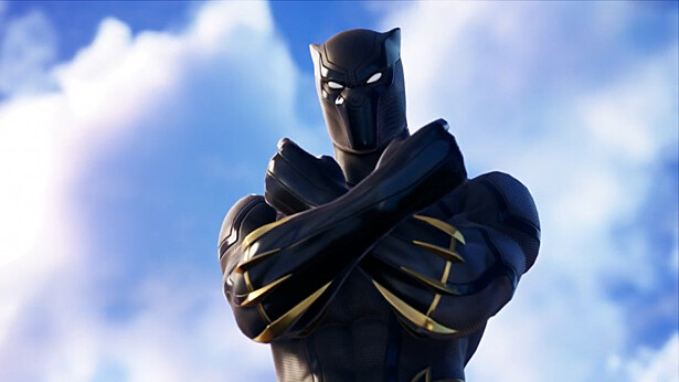 В Fortnite прибыл король Ваканды, Чёрная пантера