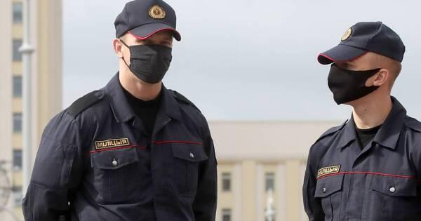 ВБелоруссии нашли авторов негатива обубитом силовике