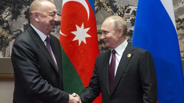 Алиев поблагодарил Россию запомощь вборьбе скоронавирусом