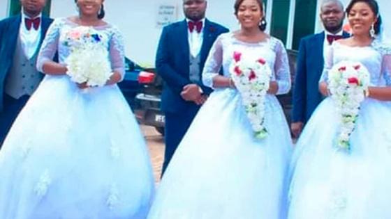 Три близнеца женились в один день и одновременно стали отцами
