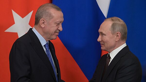 СМИ: Эрдоган обратится кПутину спросьбой поСирии