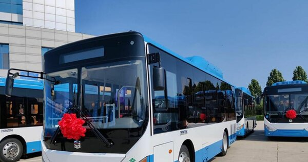 Zhongtong поставит в Ереван более 200 газовых автобусов
