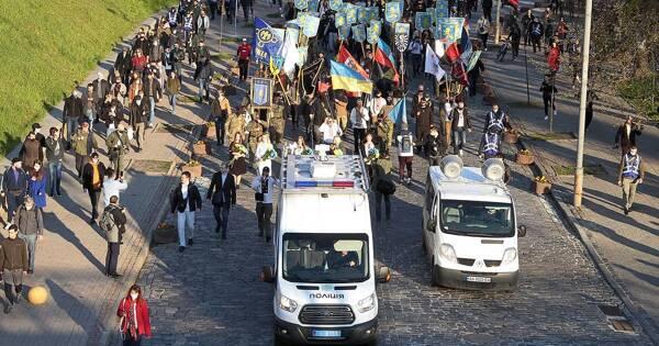 Украинцы назвали мерзавцами ибандитами участников фашистского марша вКиеве