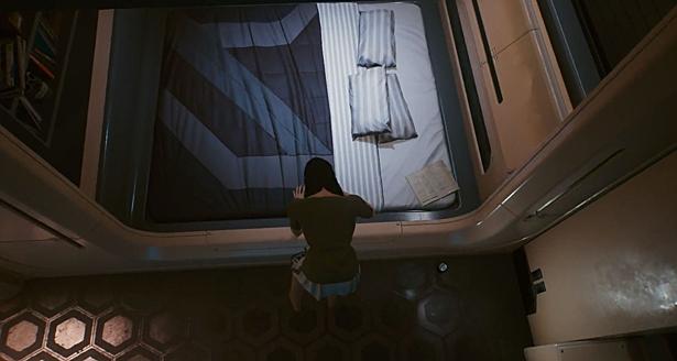 Игроки выяснили, в какой позе спит главный герой Cyberpunk 2077