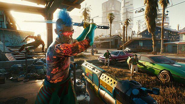 В Cyberpunk 2077 нашли отсылку к GTA: San Andreas