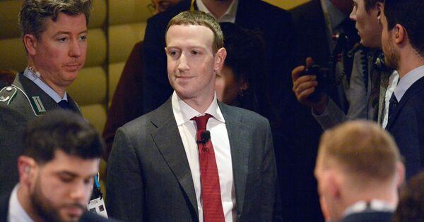 Цукерберг извинился перед пользователями засбой вработе Facebook