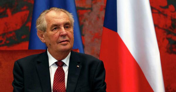 Президент Чехии назвал глупостью попытку егоимпичмента