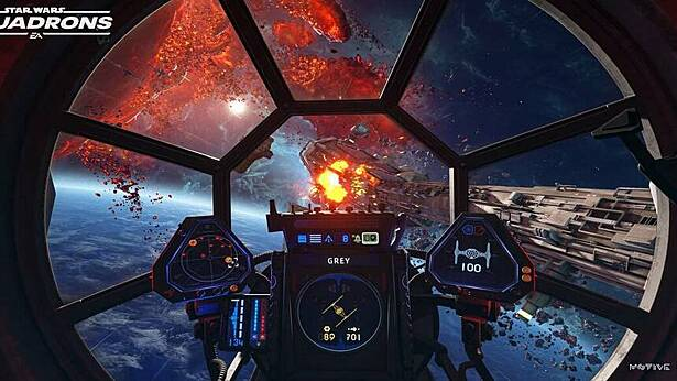 Star Wars: Squadrons улучшили для PS 5 и Xbox Series X|S