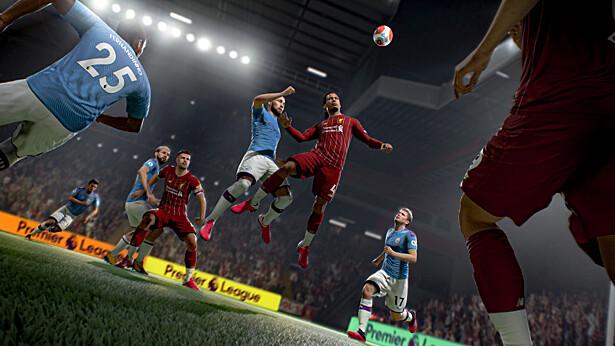 FIFA21 дебютировала на первой строчке цифрового чарта Великобритании