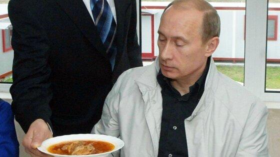 Повар президента раскрыл предпочтения Путина