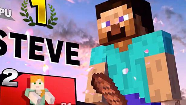 В Super Smash Bros. вырезали «мясо» Стива из Minecraft