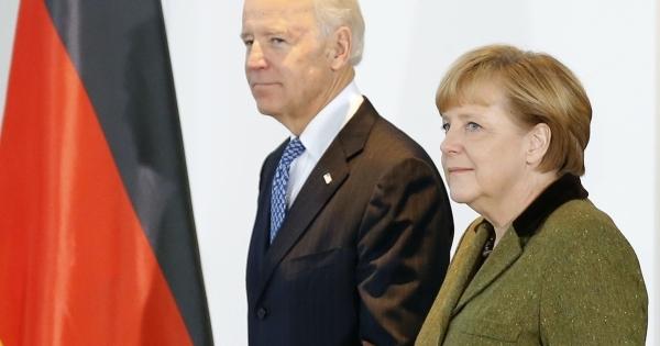 Байден обсудит «Северный поток-2» сМеркель насаммите G7