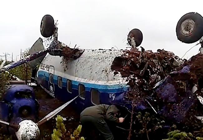 Раскрыта главная версия опричинах аварийной посадки Ан-28 втайге