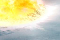В Антарктиде найдены следы взрыва крупного астероида