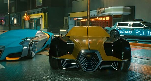 Таких машин вы еще не видели: новая игра Cyberpunk 2077