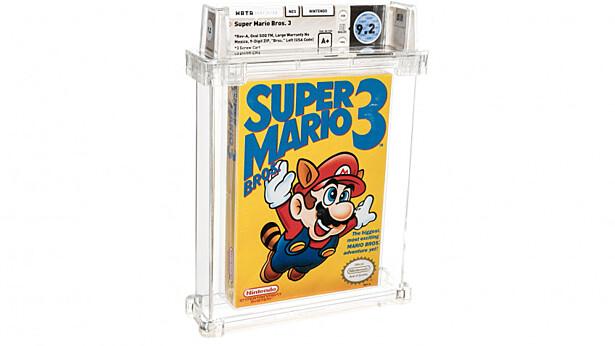 Super Mario Bros продали за 156 тысяч долларов