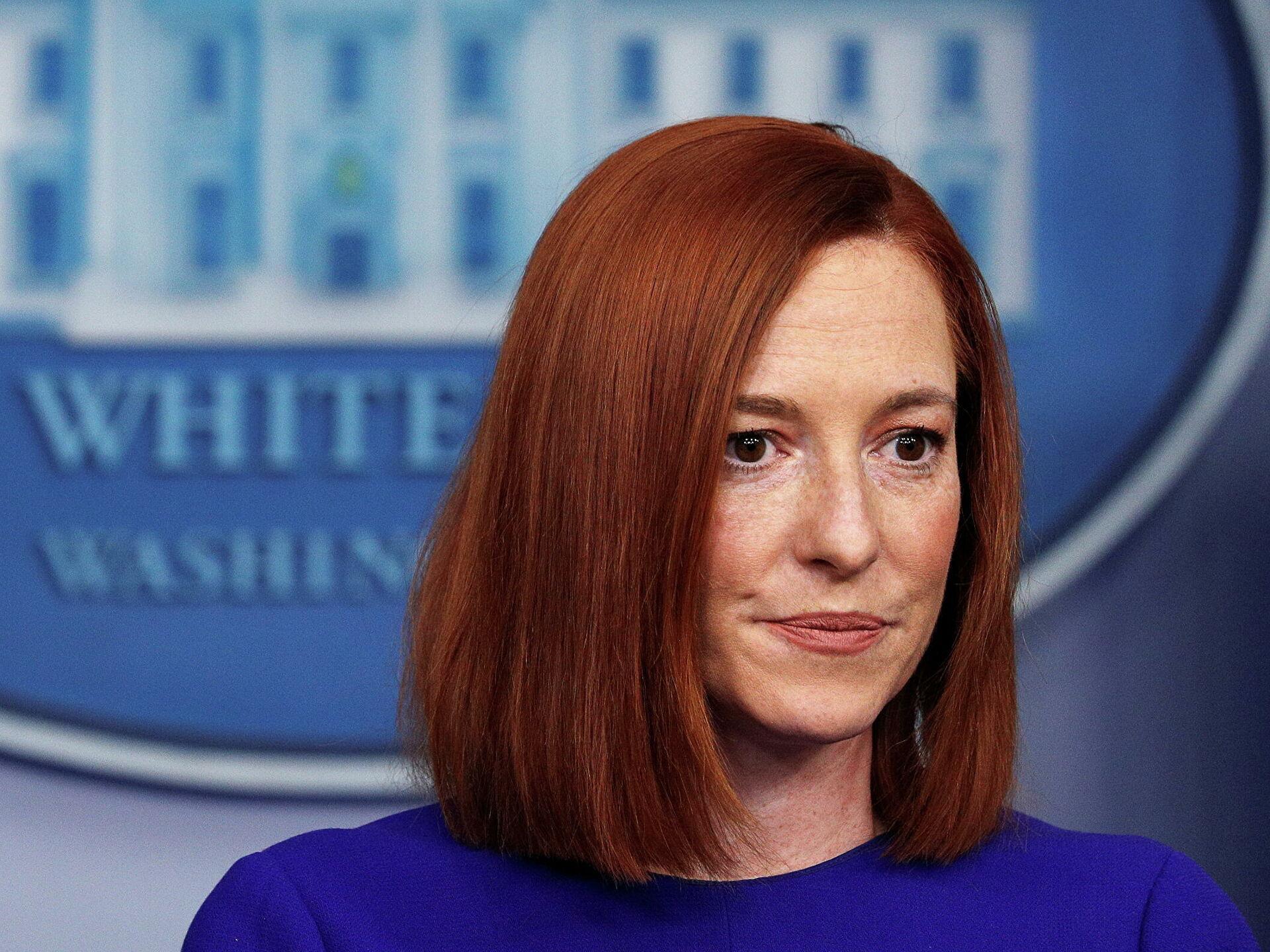 """Псаки: США продолжат при необходимости вводить санкции против """"Северного потока -2"""""""