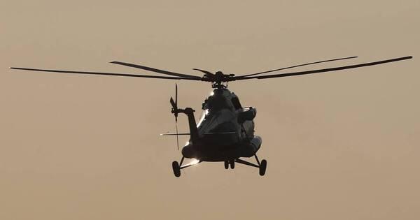 Упавший вПодмосковье вертолет выполнял учебный полет