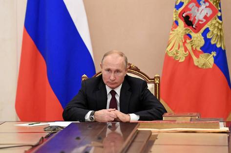 Путин заявил, чтоповестка развития России осталась неизменной, несмотря напандемию