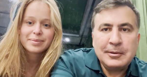 Украинская возлюбленная Саакашвили готова ехать занимвГрузию