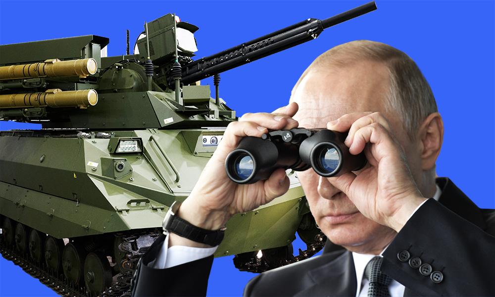 Обзор иноСМИ: «смертоносные роботанки Путина» заметили вБелоруссии