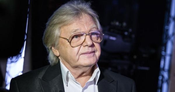 Юрий Антонов впервые задолгое время появился напублике