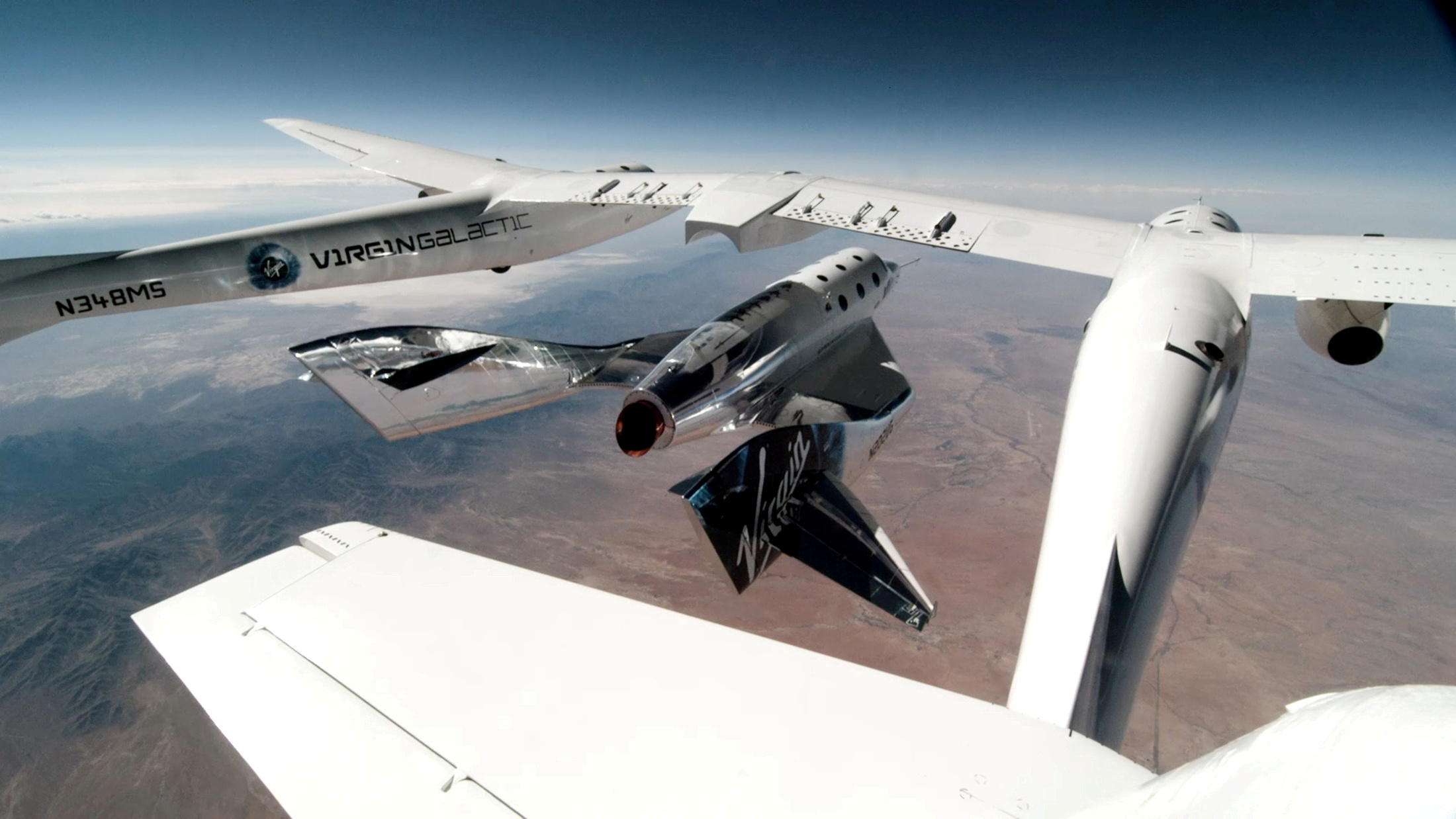 Virgin Galactic пришлось отложить коммерческую миссию ситальянцами из-за расследования полёта Брэнсона