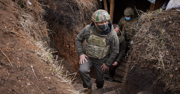 Зеленский подтвердил обострение ситуации вДонбассе