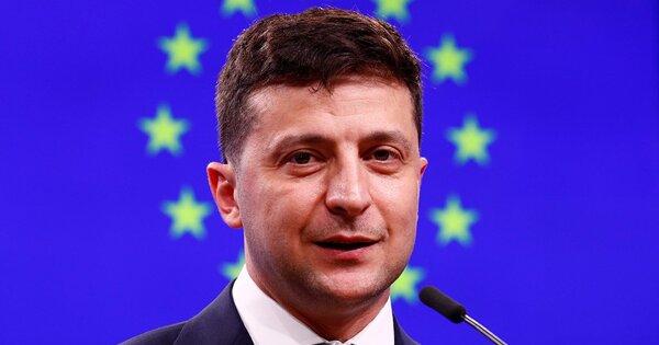 Зеленский заявил овойне вЕвропе из-заКрыма