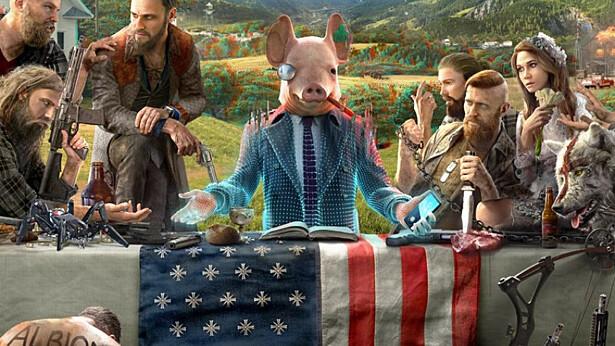 Для Watch Dogs: Legion «взломали» обложки других игр