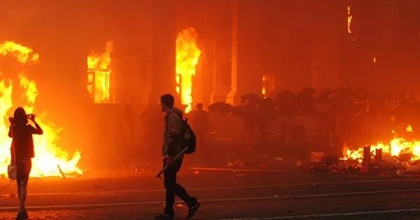 Россия проведет заседание Совбеза ООНпопожару вДоме профсоюзов вОдессе