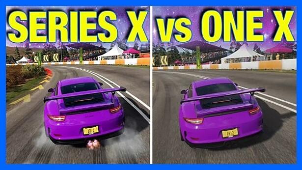 Графику автосимулятора Forza сравнили на двух поколениях Xbox