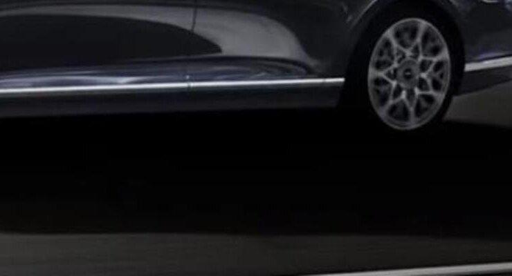Представлен рендер седана Genesis G90 нового поколения