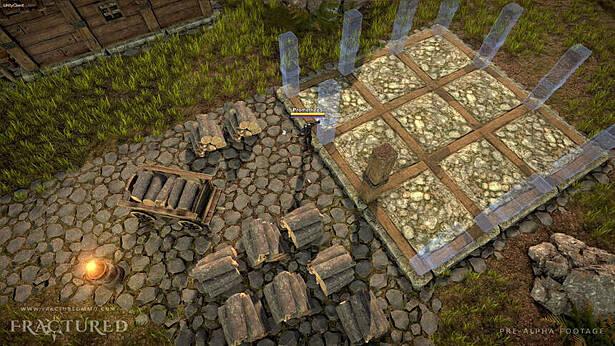 На выходных пройдет бесплатный плейтест MMORPG Fractured