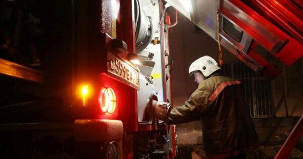 ВМоскве произошел пожар вздании натерритории детской больницы