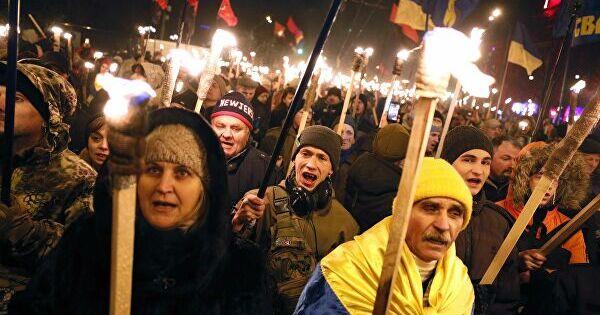 ВГосдуме назвали позором марш украинских националистов вОдессе