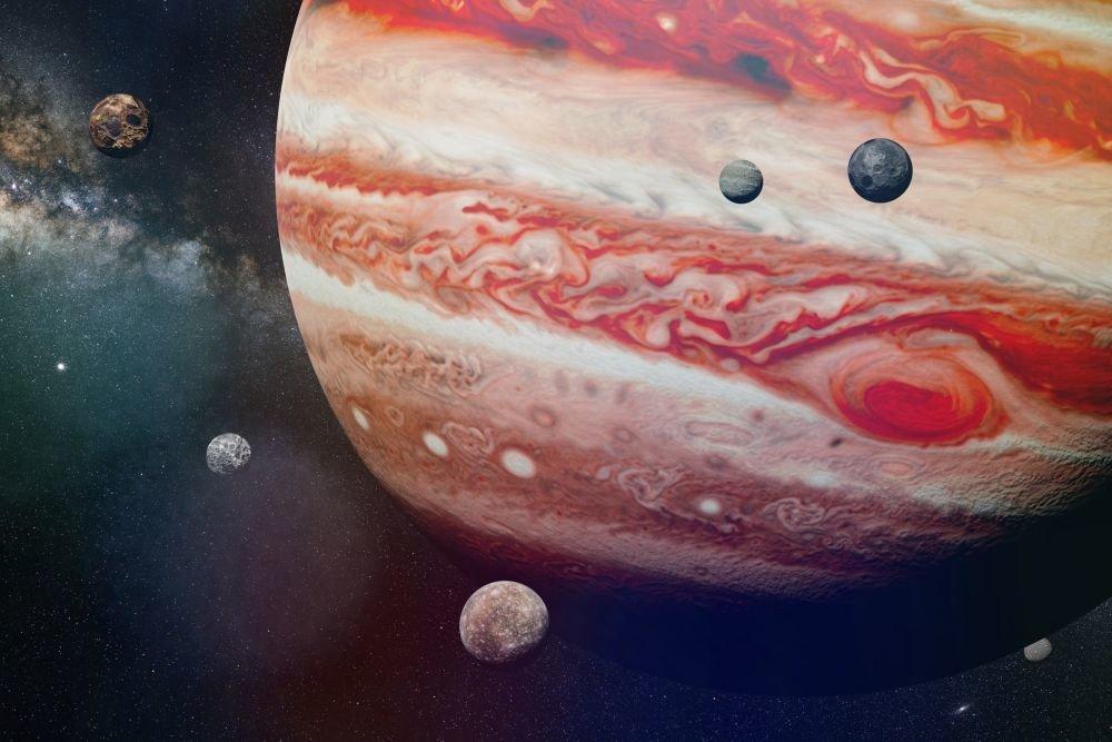 Неизвестная луна обнаружена возле Юпитера
