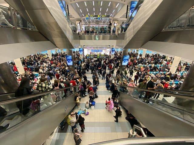 Ваэропортах Москвы задержали иотменили более 100рейсов — Рамблер/путешествия